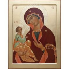 Mother of God of Jerusalem, made to order. #CatalogOfGoodDeeds #icon #iconography #orthodoxicon #orthodoxiconography #paintedicon #iconsinoklads #mountedicons #buyicon #ordericon #handpainted #lacqueredicon #iconpainters #iconographers #MotherOfGod #Theotokos #HolyTheotokos #VirginMary