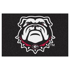 NCAA 19 x 30 in. Starter Rug, Georgia Bulldogs