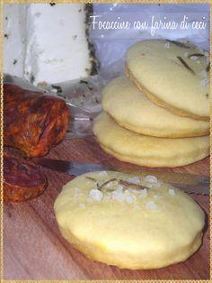 Focaccine con farina di ceci (bread of chickpea flour) #Bread