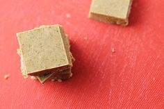 This three ingredient freezer fudge is an easy treat that you can enjoy whenever you want a pick me up you don't have to feel guilty about.