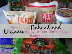 How to go Organic on a Budget - Money Saving Tips!
