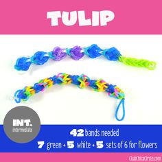 11 Cool Rainbow Loom Bracelets for Kids to Make from Easy to Advanced   Club Chica Circle - where crafty is contagious