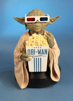The Official Star Wars Blog | Yoda in 3D Glasses Goes 3D