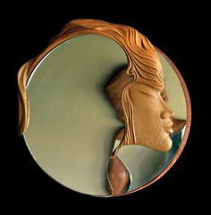 design mirror - woman by ayhantomak.deviantart.com