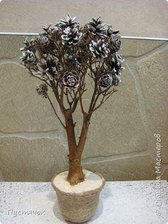 Best 12 Amazing Tree of pine cones – SkillOfKing. Pine Cone Art, Pine Cone Crafts, Pine Cones, Christmas Topiary, Christmas Wood, Christmas Crafts, Pine Cone Decorations, Christmas Decorations, Winter Planter