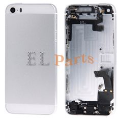 Apple iPhone 5S Full Assembly Replacement Housing  Cover(Silver) http://www.laimarket.com/apple-iphone-5s-full-assembly-replacement-housing-coversilver-p-3187.html