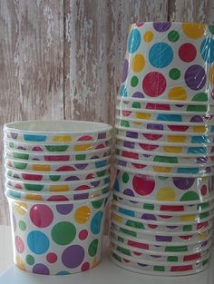 Spot the Dog Birthday Party Ice Cream Cups (set of 8)