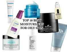 When you have oily skin sometimes it is hard to find the right moisturizer. Using the wrong cream or lotion can make your skin oilier or even cause breakouts. Luckily there are moisturizers that ar… Moisturizer For Oily Skin, Oily Skin Care, Tinted Moisturizer, Dry Skin, Homemade Skin Care, Best Face Products, Skin Products, Beauty Products, Skin Brightening