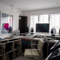 Small Space Home Recording Studio | Loft Conversion Ideas (houseandgarden.co.uk)