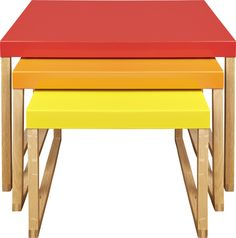 Kilo settebord rødt, oransje og gult. Fåes i flere farger. Dimensjoner: Small: W34 x H30 x L42cm. Medium: W42 x H35 x L42cm. Large: W50 x H40 x L42cm. Kr. 990,-