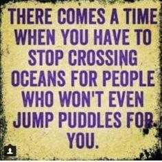 Or stop crossing borders