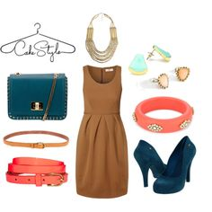 """When Camel Meets Color"" by cakestyle on Polyvore"