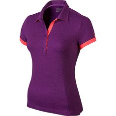 Nike Women's Victory Block Short-Sleeve Golf Polo