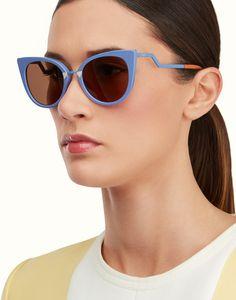 FENDI   ORCHIDEA Cat-eye sunglasses