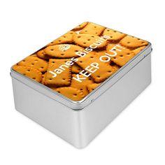 Boite à biscuits personnalisable avec votre photo
