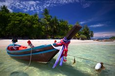 Kho Phangan, #Thailand - Home to the famous (maybe infamous?) full moon party! And beautiful #beaches!