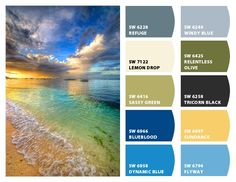 Great color inspiration.  This site has several color pallets.