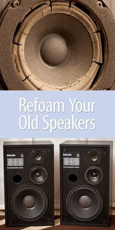 The re-foam process is the same for squawkers and subwoofers. Make them like new again!