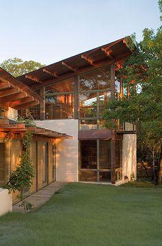 Around the World: Bluffview Residence by Lake Flato Architects : Inside Outside Magazine