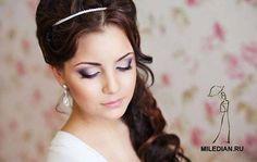 Картинки по запросу свадебный макияж 2017 голубые глаза