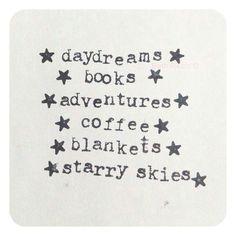holiday wish list.