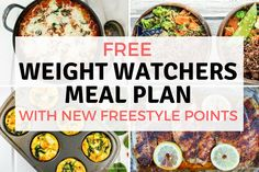 We created this free Weight Watchers® Meal Plan to help make eating on the new Freestyle® plan easy! Staying on track and within your daily points target is...