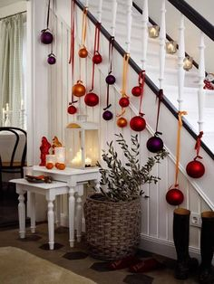 bello christmas decorations christmas ornaments holiday decor christmas crafts holiday fun - Decorating Banisters For Christmas With Ribbon