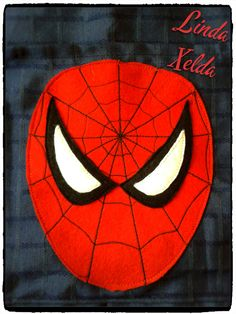 detalle cara Spiderman