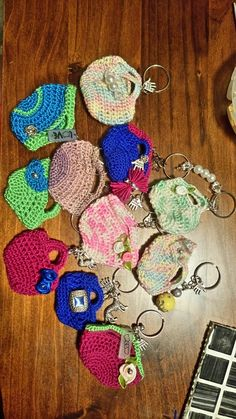Home made keychains