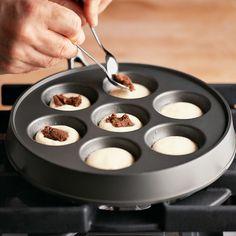 Nordic Ware Ebelskiver Filled-Pancake Pan | Williams-Sonoma