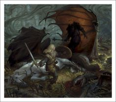 Книга: Lord of the Rings Trilogy Illustrator Donato Giancola.