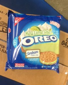 SPOTTED ON SHELVES: Nabisco Limited Edition Key Lime Pie Oreo Cookies