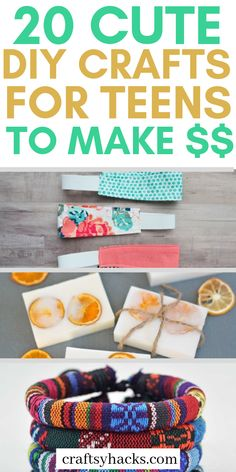 20 Cute DIY Crafts for Teens to Make $$