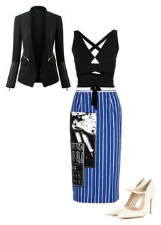 """""""Untitled #205"""" by joanperezxv on Polyvore featuring Miu Miu, Gianvito Rossi, Proenza Schouler, Chicsense, women's clothing, women's fashion, women, female, woman and misses"""