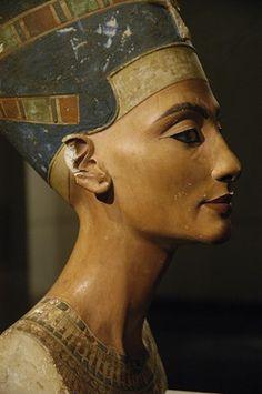 Egyptian art. Nefert...