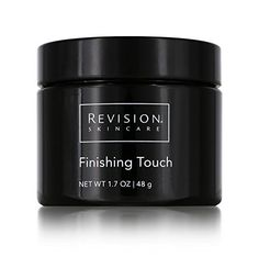 Revision Skincare Finishing Touch Microdermabrasion Cream, Ounce Luxury Beauty click image for detail. Revision Skincare, Neck Wrinkles, Black Skin Care, How To Grow Eyebrows, Neck Cream, Best Moisturizer, Black Mask, Luxury Beauty, Collagen