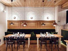 Restaurante 'Althaus' Designer: PB Studio e Filip Kozarski Fonte: Yatzer