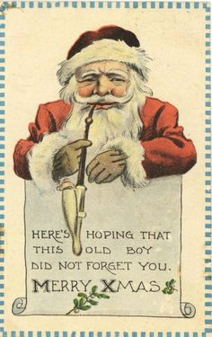 Vintage Santa Claus - Santa Claus - Vintages Cards - Christmas Wallpapers, Free ClipArt for Xmas, Icon's, Web Element, Victorian Christmas Photos and Vintage Santa Claus pictures Vintage Christmas Images, Christmas Past, Victorian Christmas, Father Christmas, Retro Christmas, Vintage Holiday, Christmas Photos, Christmas Greetings, Christmas Postcards