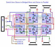 Basic Remote Start Relay Diagram Electronic circuit