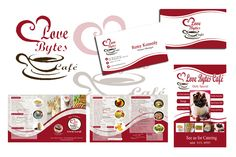 """My work for """"Love Bytes Cafe"""""""