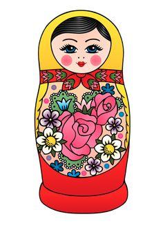 russian doll tattoo - Google Search
