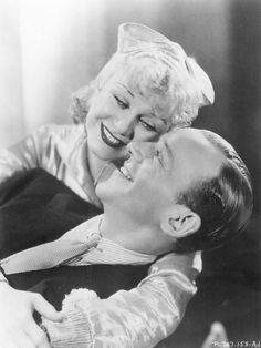 Ginger Rogers and Fred Astaire, Flying Down to Rio (1933) They are so cute!
