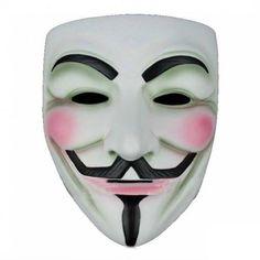 Máscara V de Vendetta http://www.milideaspararegalar.es/producto/mascara-v-de-vendetta/
