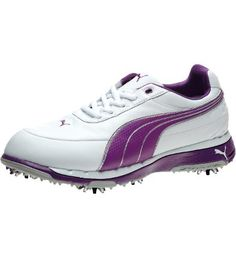 Golf Shoes, white-bright violet