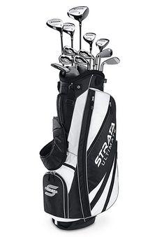 Callaway Strata Ultimate 18 Piece Men's Golf Set, Right Hand, Multicolor Mens Golf Clubs, Ladies Golf Clubs, Golf Clubs For Beginners, Callaway Strata, Best Golf Club Sets, Golf Mk4, Golf Card Game, Dubai Golf, Golf Apps