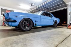 Blue Mustang, Ford Mustang Shelby Cobra, Mustang Cars, Ford Mustangs, 60s Muscle Cars, Vintage Mustang, Classic Mustang, American Classic Cars, Ford Falcon