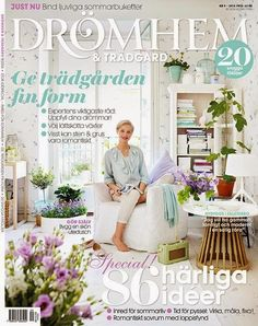 kråkan, slottet & krusidullerna: Drömhem & trädgård