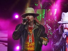 Axl Rose and GNR live in Milan, June 22nd 2012. All photos taken by me.