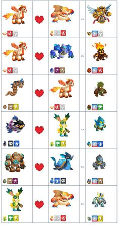 Monster Legends Breeding Guide, Monster Legends Game, Dragon City, Game Character Design, Character Design Inspiration, Pokemon, Mythical Creatures Art, Cute Funny Animals, Game Art