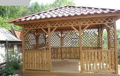 Outdoor Ceiling Fan for Gazebo . Outdoor Ceiling Fan for Gazebo . Gazebo On Deck, Screened Gazebo, Grill Gazebo, Hot Tub Gazebo, Gazebo Pergola, Gazebo Canopy, Outdoor Gazebos, Pergola Kits, Wood Canopy